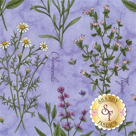 Thyme With Friends 8331-V  by Marti Michell for Maywood Studio Fabrics REM