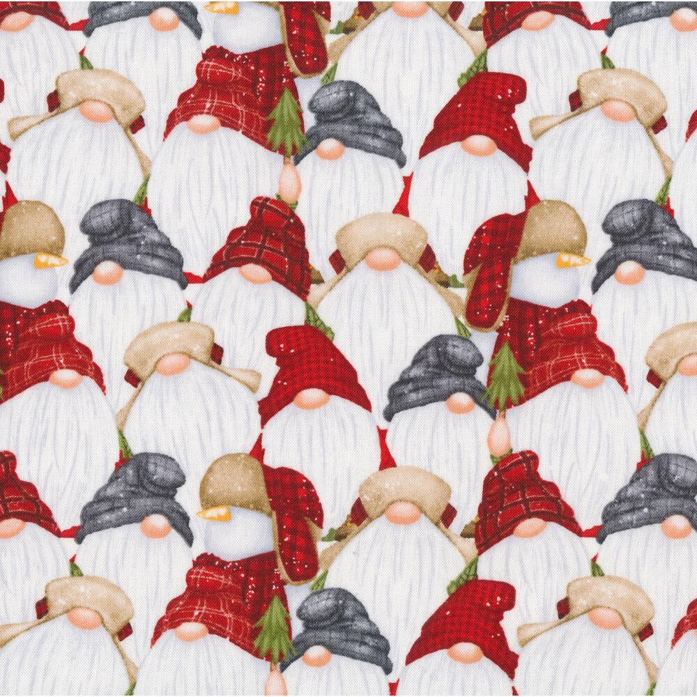 Stacked gnomes and snowmen | Shabby Fabrics