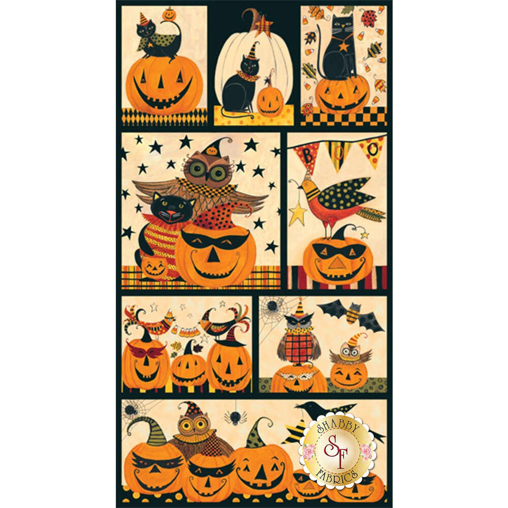 Too Cute To Spook 9109P-41 Panel by Blank Quilting Corporation