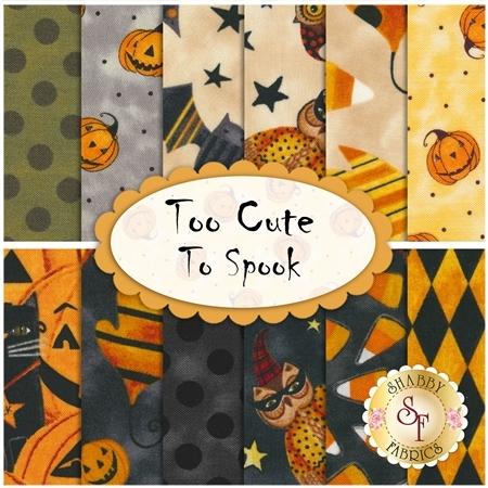 Too Cute To Spook  12 FQ Set by Blank Quilting Corporation