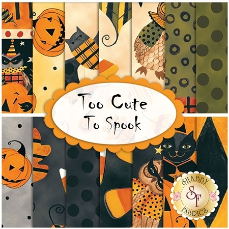 Too Cute To Spook  Yardage by Blank Quilting