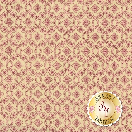 Torrington 3856-07 Trumball Cream by Dover Hill Studio for Benartex Fabrics