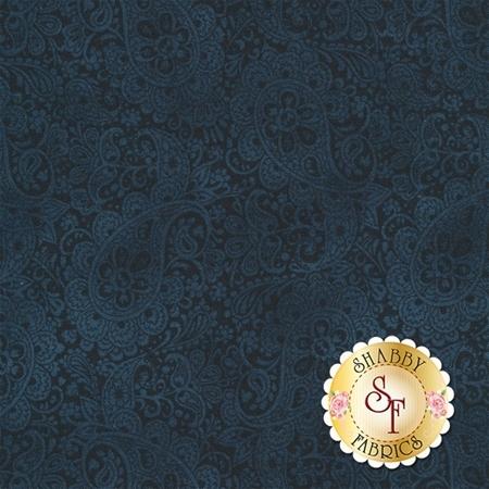 Torrington 3857-55 Norwich Dark Blue by Dover Hill Studio for Benartex Fabrics