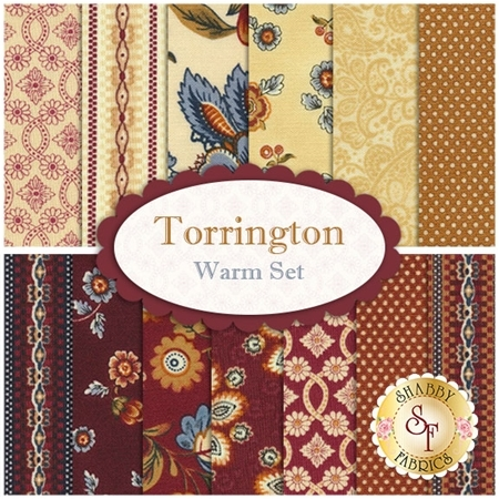 Torrington  13 FQ Set - Warm Set by Benartex Fabrics