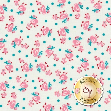 Toy Chest 2 C5611-Pink by Penny Rose Fabrics