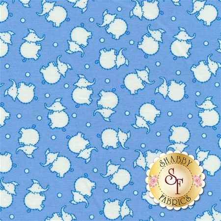 Toy Chest 2 C5612-Blue by Penny Rose Fabrics