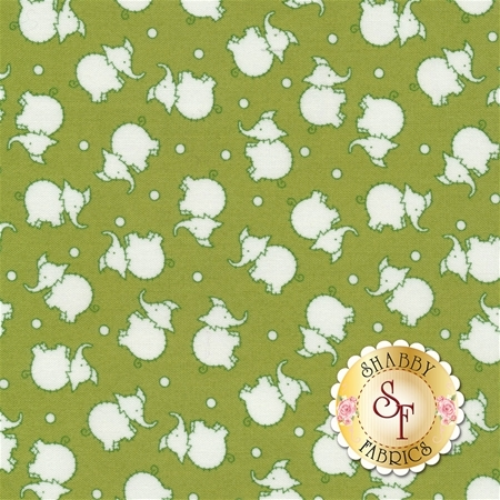 Toy Chest 2 C5612-Green by Penny Rose Fabrics