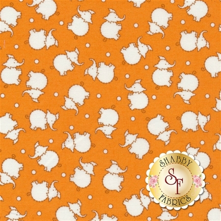 Toy Chest 2 C5612-Orange by Penny Rose Fabrics