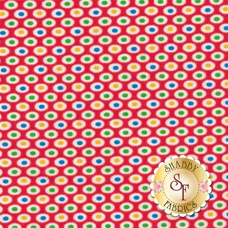 Toy Chest 2 C5614-Red by Penny Rose Fabrics