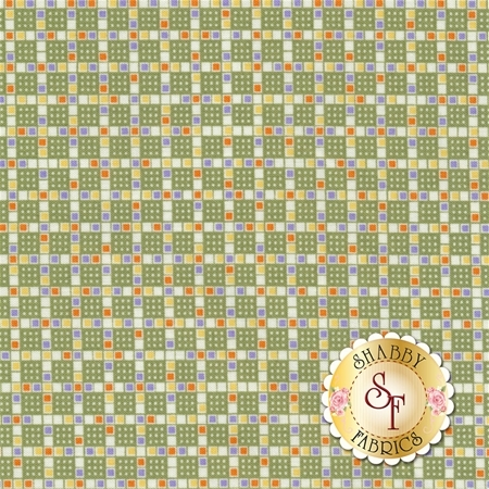 Toy Chest 2 C5619-Green by Penny Rose Fabrics