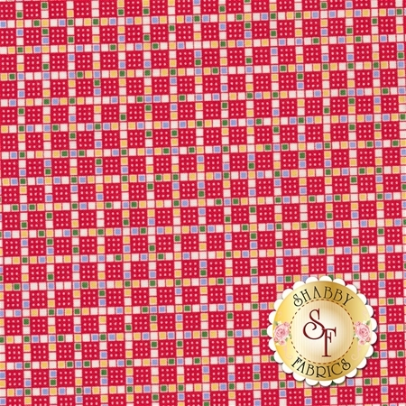 Toy Chest 2 C5619-Red by Penny Rose Fabrics REM