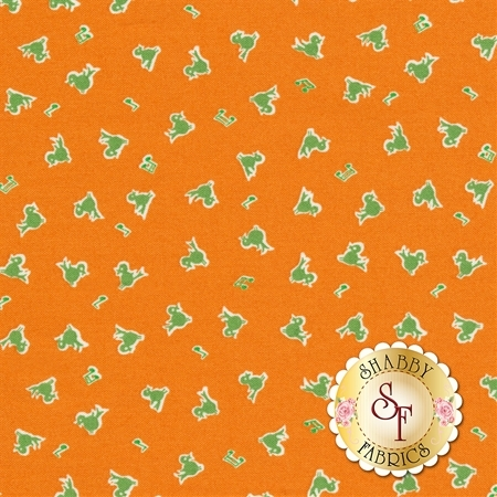 Toy Chest 3 C6760-ORANGE by Penny Rose Fabrics