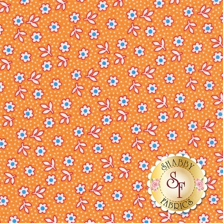 Toy Chest 3 C6761-ORANGE by Penny Rose Fabrics