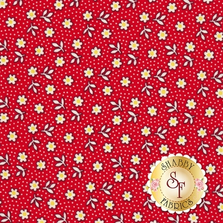 Toy Chest 3 C6761-RED by Penny Rose Fabrics