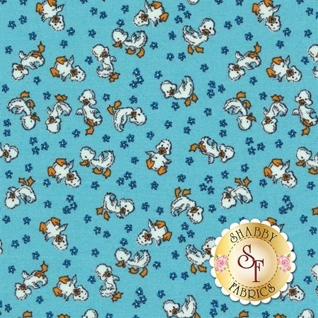 Toy Chest 3 C6762-BLUE by Penny Rose Fabrics REM