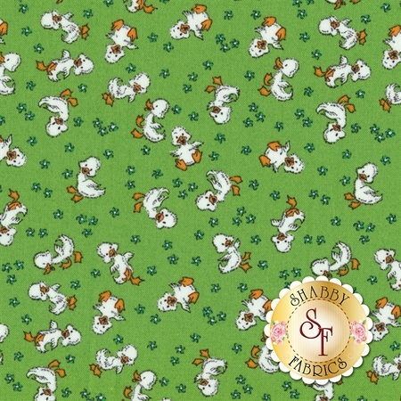 Toy Chest 3 C6762-GREEN by Penny Rose Fabrics