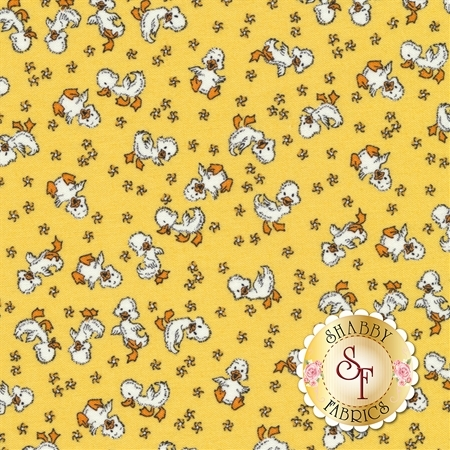 Toy Chest 3 C6762-YELLOW by Penny Rose Fabrics REM