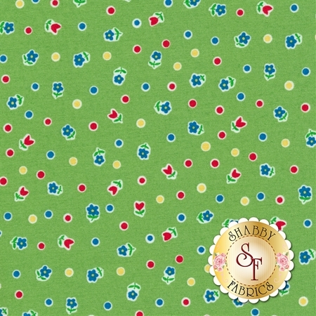 Toy Chest 3 C6766-GREEN by Penny Rose Fabrics