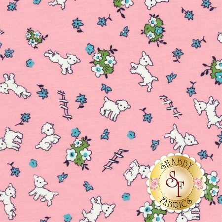 Toy Chest 3 C6767-PINK by Penny Rose Fabrics