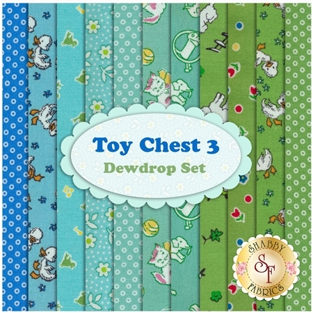 Toy Chest 3  11 FQ Set - Dewdrop Set by Penny Rose Fabrics