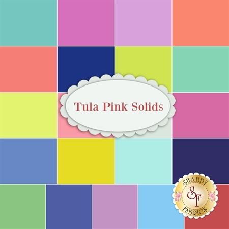Tula Pink Solids  Yardage by Tula Pink for Free Spirit Fabrics