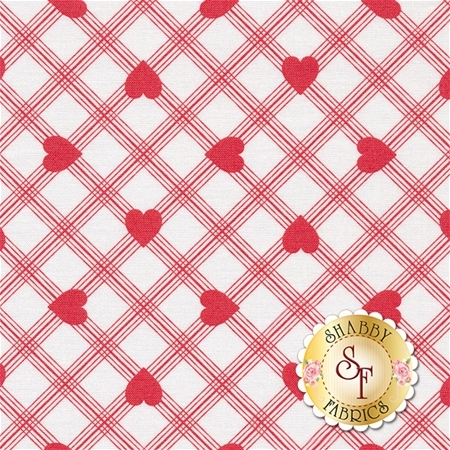 Valentine Rose PWTW079-RED by Tanya Whelan for Free Spirit Fabrics