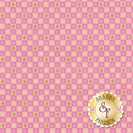 Veranda 123.102.02.2 Terrace Pink by Brenda Walton for Blend Fabrics