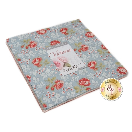 Victoria  Layer Cake by 3 Sisters for Moda Fabrics
