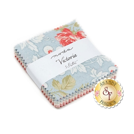 Victoria  Mini Charm Pack by 3 Sisters for Moda Fabrics
