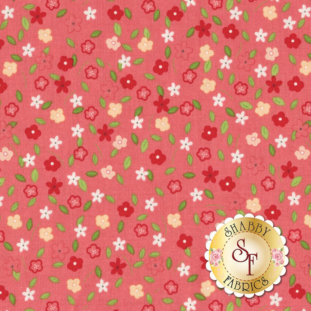 Vintage Adventure C7275-PINK Tiny Floral Pink by Riley Blake Designs