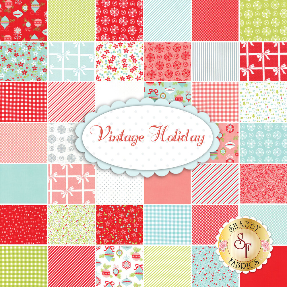 Vintage Holiday  Yardage by Bonnie & Camille for Moda Fabrics