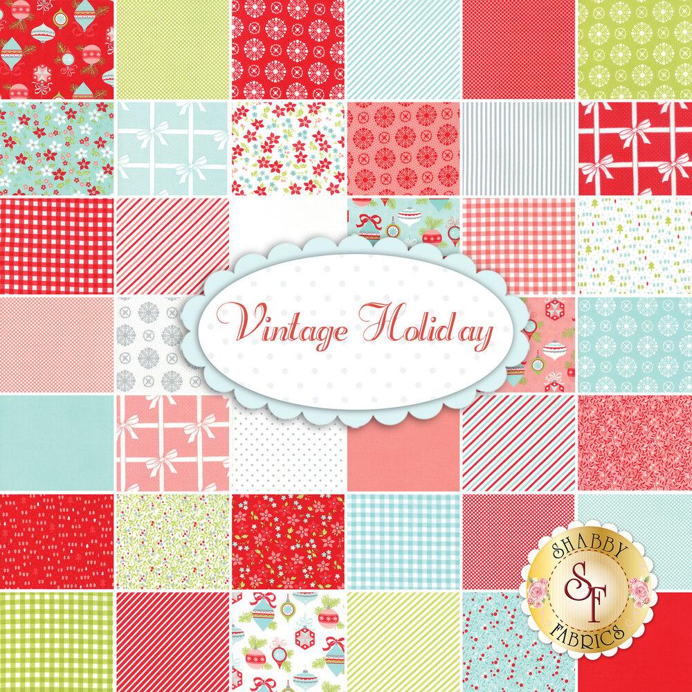 Vintage Holiday  Yardage by Bonnie & Camille for Moda Fabrics
