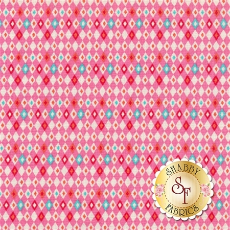 Vintage Kitchen C6096-PINK by Riley Blake Designs