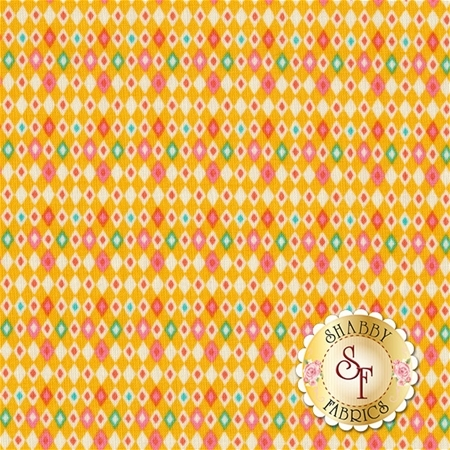 Vintage Kitchen C6096-YELLOW by Riley Blake Designs