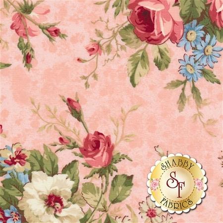 Vintage Rose 21552-21 by Deborah Edwards for Northcott Fabrics