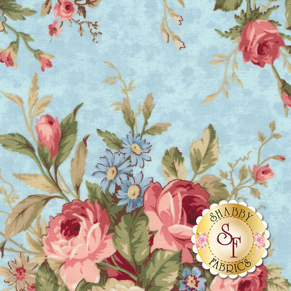 Vintage Rose 21552-42 by Deborah Edwards for Northcott Fabrics
