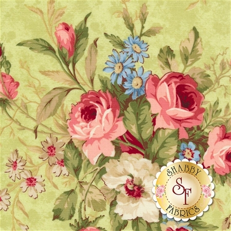Vintage Rose 21552-72 by Northcott Fabrics
