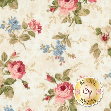 Vintage Rose 21553-11 by Northcott Fabrics