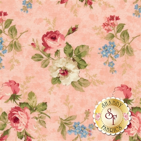 Vintage Rose 21553-21 by Northcott Fabrics