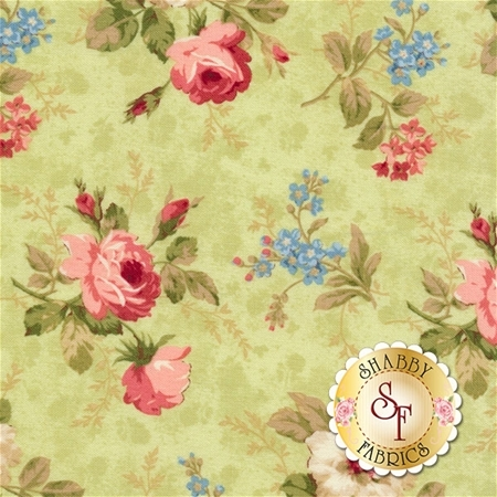 Vintage Rose 21553-72 by Northcott Fabrics