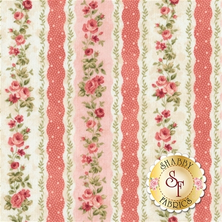Vintage Rose 21555-21 by Northcott Fabrics