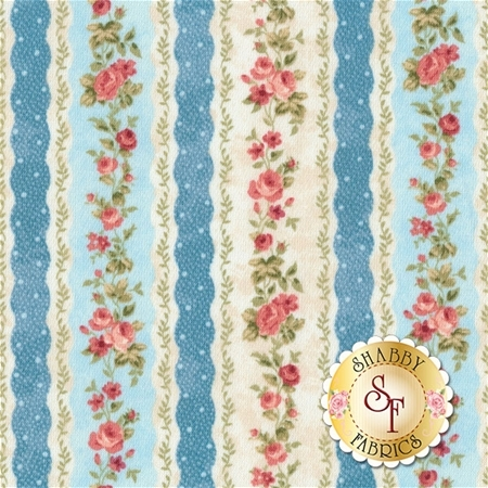 Vintage Rose 21555-42 by Northcott Fabrics