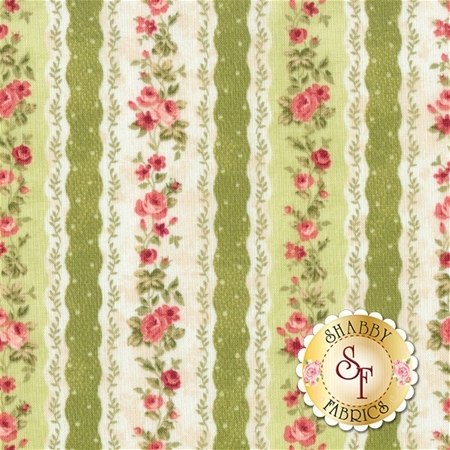Vintage Rose 21555-72 by Northcott Fabrics