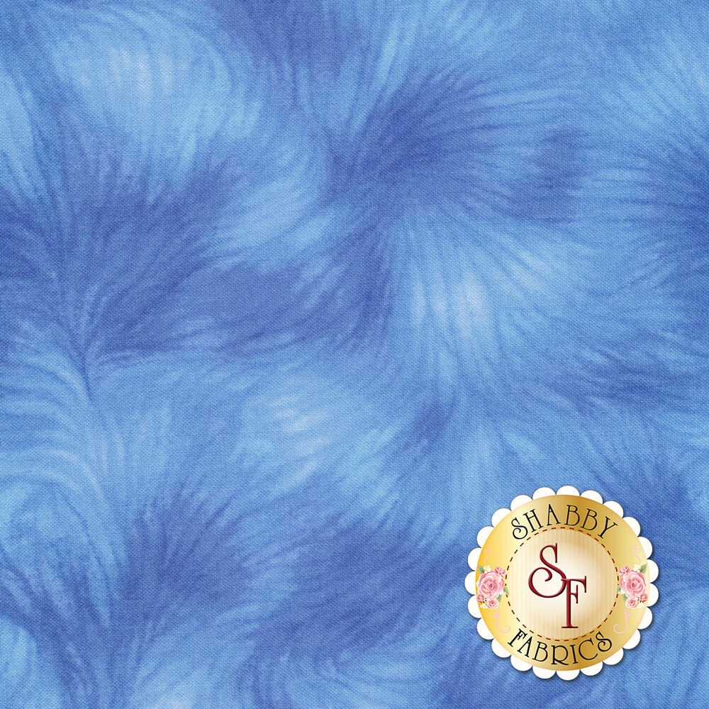 Viola C4459-Blue by Timeless Treasures Fabrics