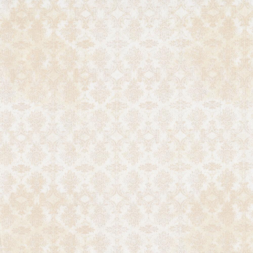 tonal print on cream | Shabby Fabrics