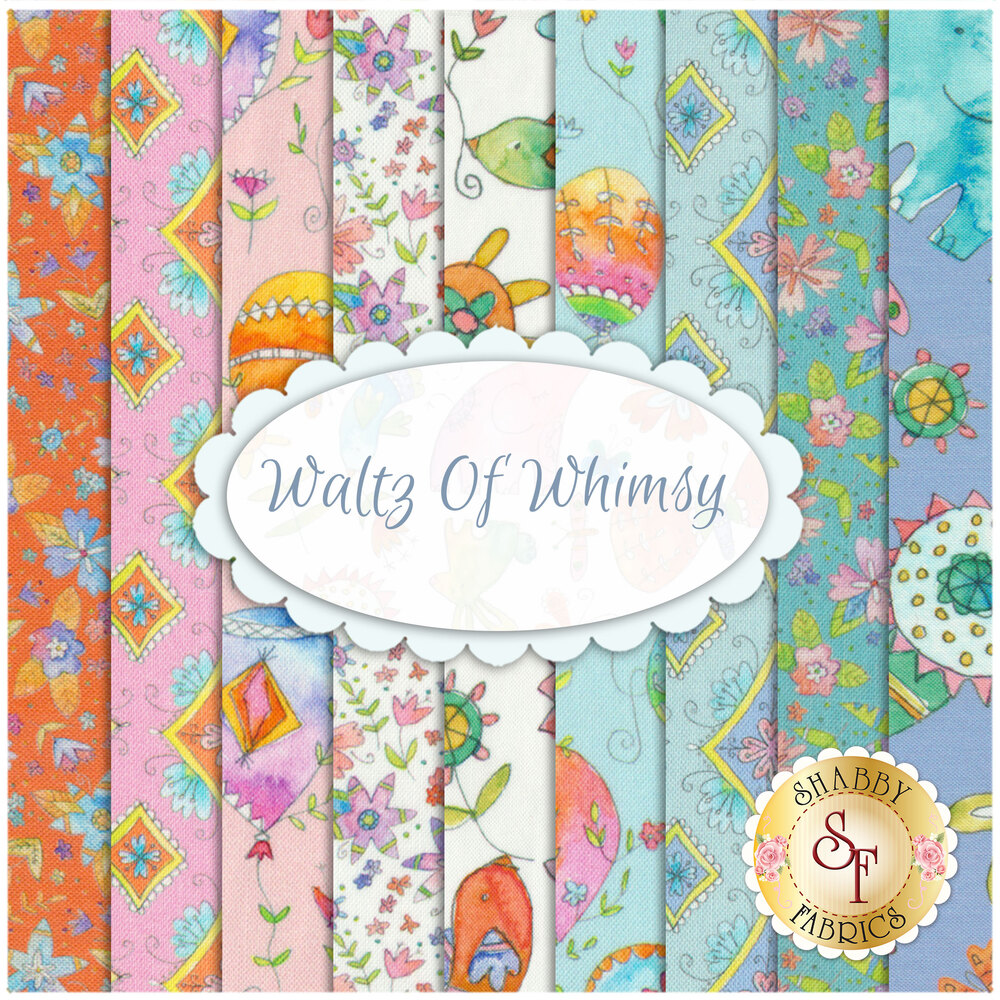 Waltz Of Whimsy  9 FQ Set from Blend Fabrics by Ana Davis