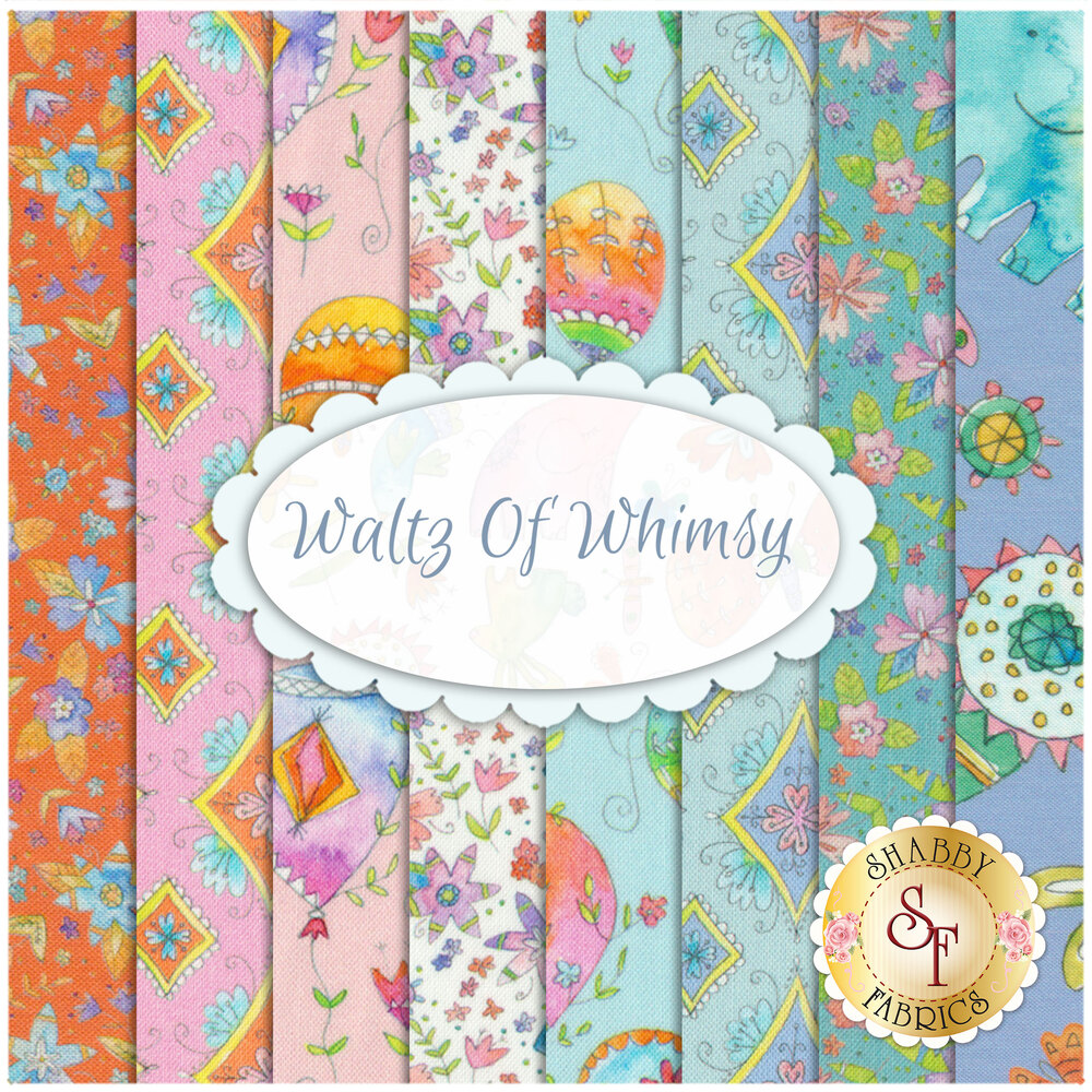 Waltz Of Whimsy  8 FQ Set from Blend Fabrics by Ana Davis