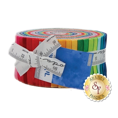 Watercolor  Jelly Roll by Moda Fabrics
