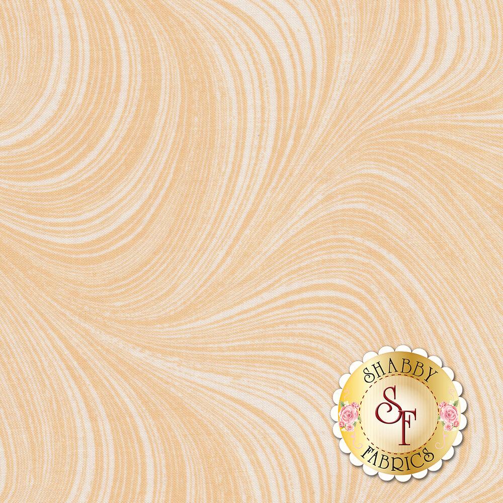 Wave Texture 2966-02 Peach by Jackie Robinson by Benartex Fabrics