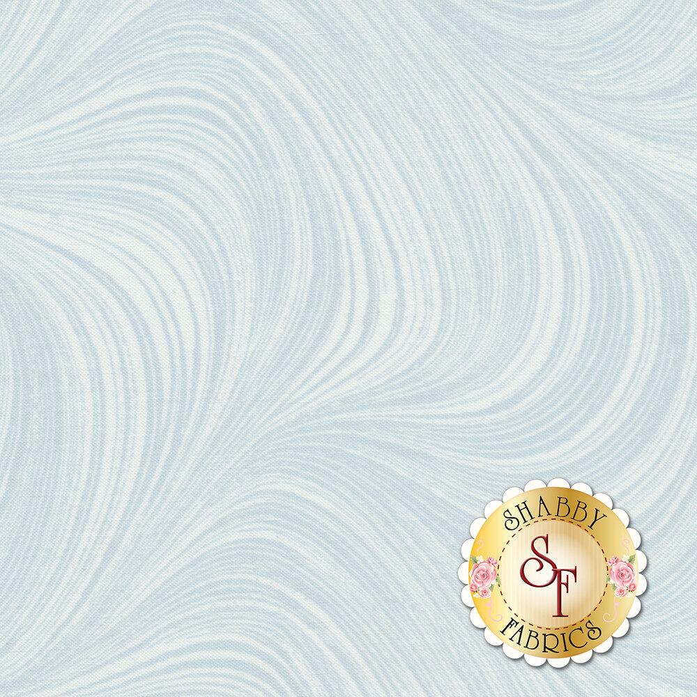 Wave Texture 2966-05 Aqua by Jackie Robinson by Benartex Fabrics